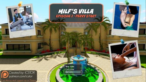 Brother- Sister Milf's Villa – Ellis